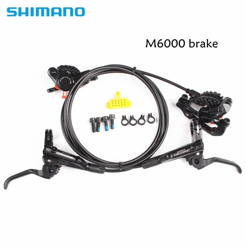 SHIMANO DEORE M6000 frein vtt Hidraulic frein à disque vtt BR BL-M6000 DEORE frein 800/1400 gauche et droite