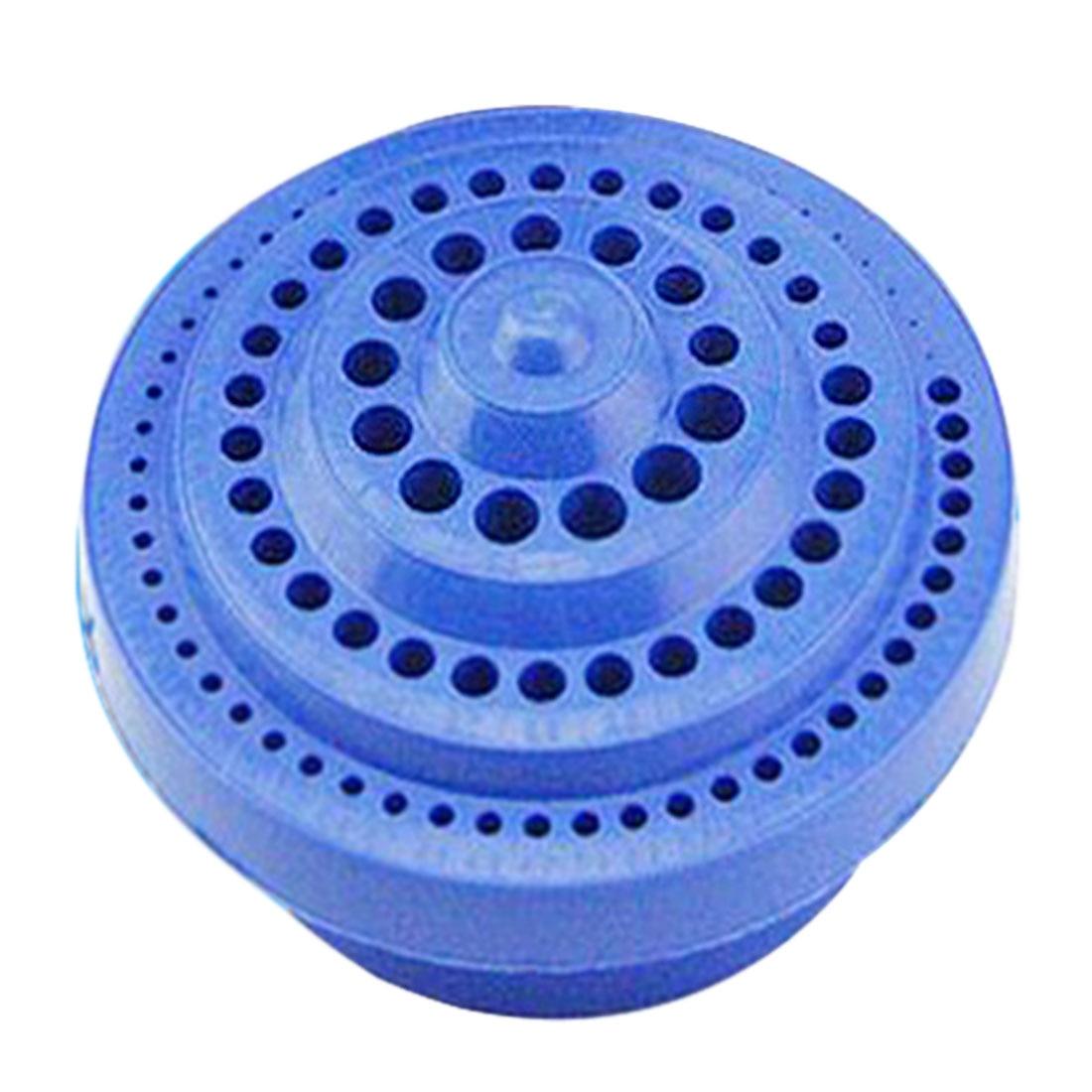 Круглая форма пластиковый жесткий сверло ящик для хранения-синий 1-13 мм