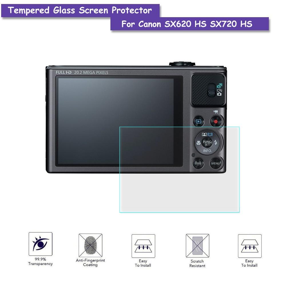 9H закаленное стекло ЖК-экран Защитная Настоящая стеклянная пленка для Canon Powershot SX620 HS SX720 HS аксессуары для камеры