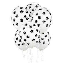 10 шт./лот, 12 дюймов, Щенячий патруль, собака, лапы, принт, для вечеринки, латексные шары, подарок на день рождения, детские игрушки для вечеринки, украшения, globos