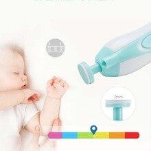 Tragbare Nagel Pflege Baby Trimmer Kinder Elektrische Infant Neugeborene Kleinkinder Fingernägel Maniküre Zehennagel Pediküre Gerät