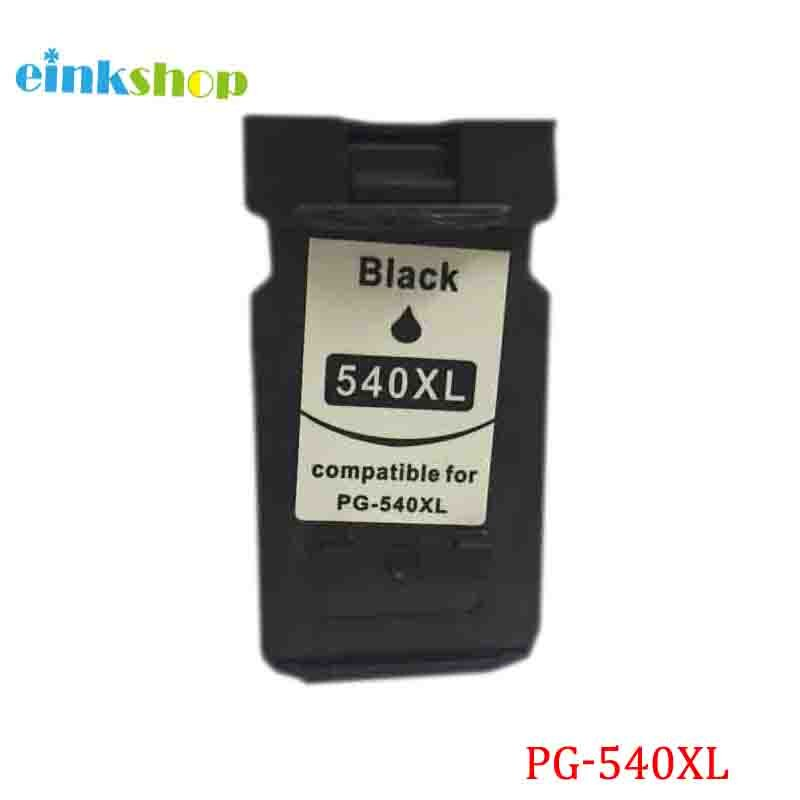 Einkshop PG-540 PG-540XL cartucho de tinta negro para Canon PIXMA MG2250 MG3150 MG4150 MG2150 MG3250 MG3550 MX375 MX395 MX435