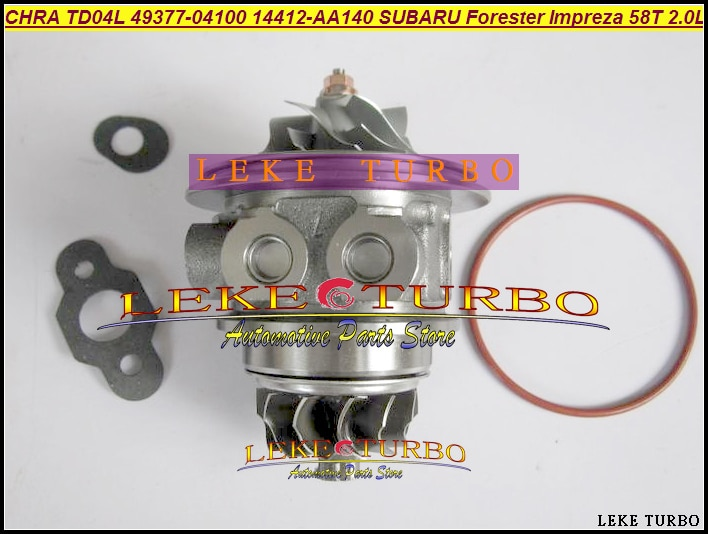 Cartucho Turbo CHRA TD04L 49377-04180, 49377-04190, 49377-04200, 49377-04280, 49377-04290 para SUBARU Impreza WRX 1998- 58T 2.0L