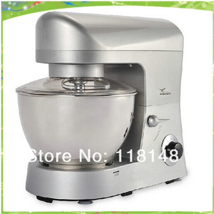 Envío Gratis CE 5L comercial mezclador de masa máquina eléctrica mezclador de masa máquina automática de mezclador de harina de trigo de masa de la máquina fabricante