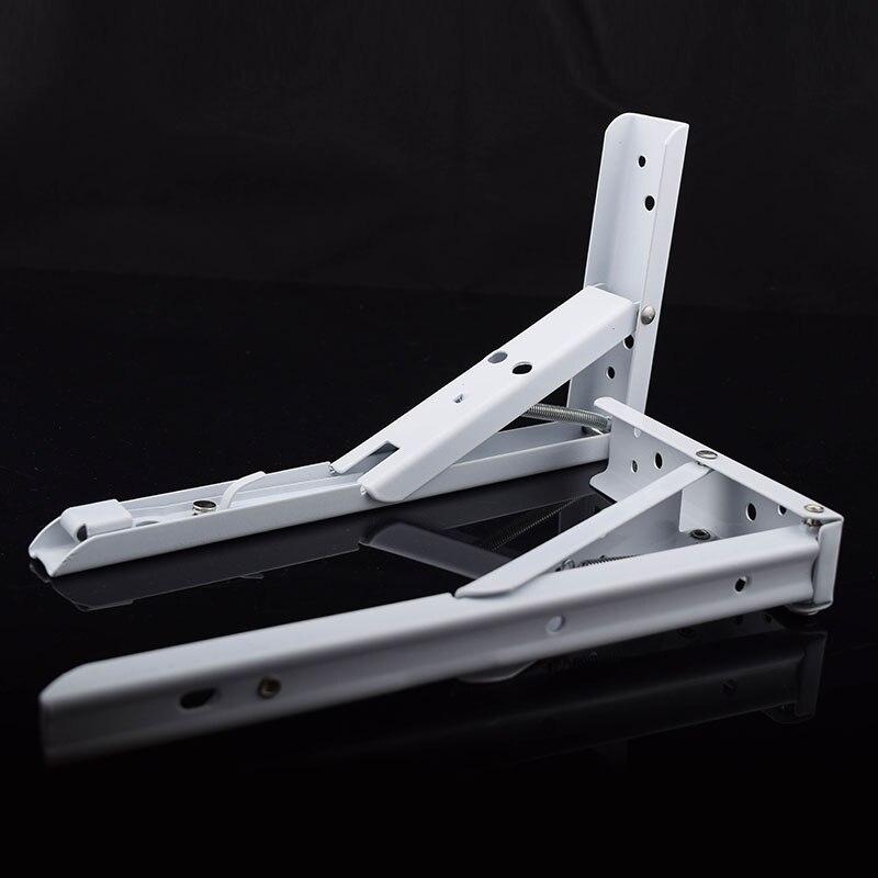 10 PCS DHL frete grátis dobrável de Ferro suporte de prateleira estantes de pared decorativos Poroso andaime dobrável home improvement