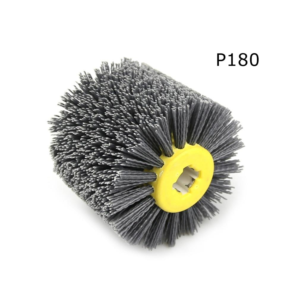 1 stks 120 * 100 * 19 mm nylon schurende draad drum polijstschijf - Schurende gereedschappen - Foto 4