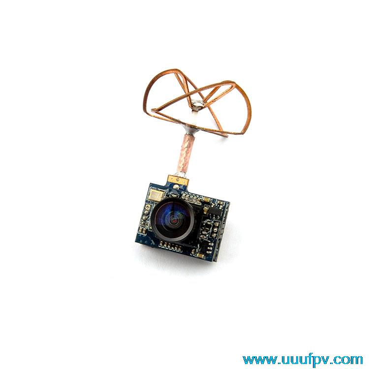 5,8G 25mW transmisor 32CH AV Mini photostransmisión con 520TVL Cámara formato PAL mejor que FX797T transmisor de Radio