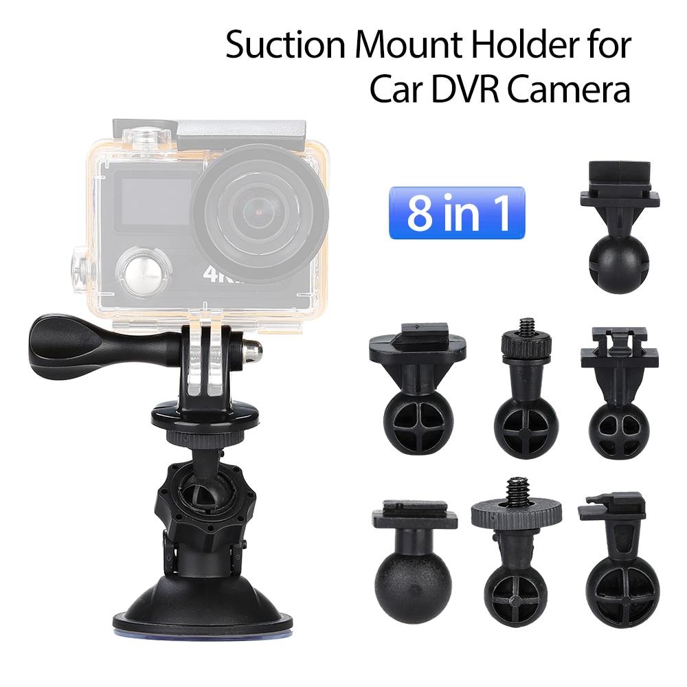 8in1 Camera Mount Tripod Holder Bracket Suction Cup For G1W G1W-C G1W-CB LS300W GT550S G1WH SJ5000x SJ4000 SJ7 Git2P YI