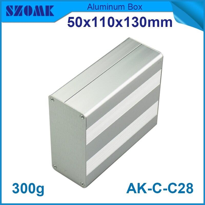 10 قطعة/الوحدة الألومنيوم الإسكان توزيع مربع الألومنيوم مربع الضميمة 45X106MM الضميمة diy LED امدادات مشروع مربع الألومنيوم مربع