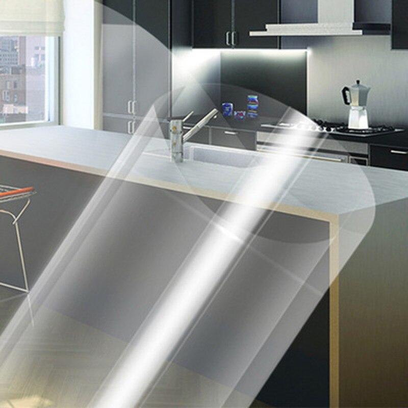 Pegatinas de aceite transparentes de 45x70CM, autoadhesivas, de alta temperatura, para cocina casera, azulejos de cerámica, pegatinas antiaceite para pared, utensilios de cocina