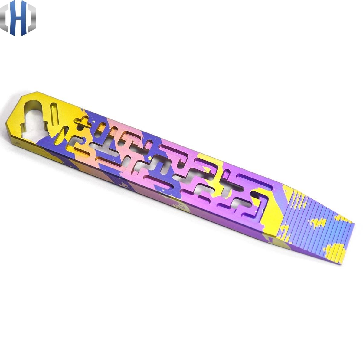 مفتاح حبر مجوف من سبائك التيتانيوم ، أداة متعددة الوظائف ، EDC