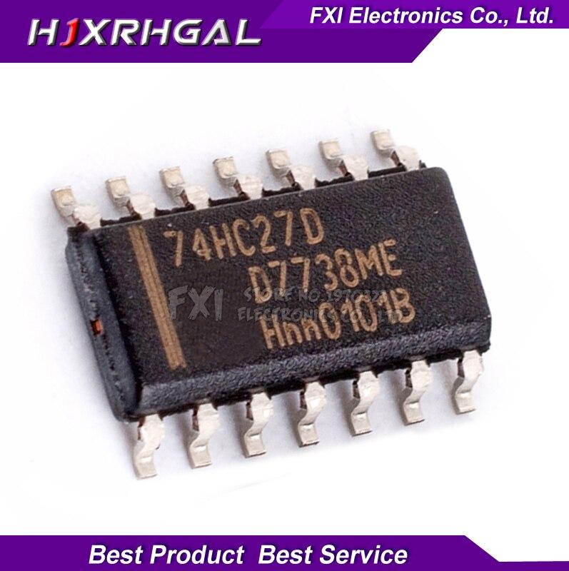 10PCS 74HC27D 74HC27 SOP14 SOP SN74HC27DR SN74HC27 SMD new original