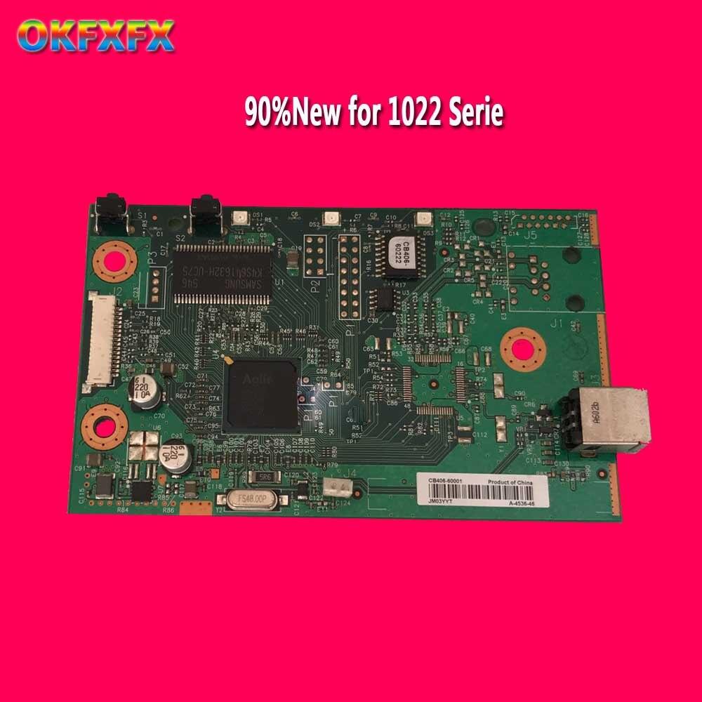 Original Formatter Board For HP 1022 HP1022 CB406-60001 Q5427-60001 logic Main Board MainBoard mother board
