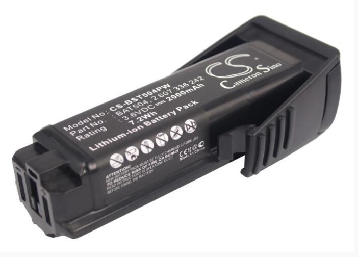 Cameron Sino bateria 2000 mAh para BOSCH GSR 36019A2010 Mx2Drive SPS10-2 BAT504 2 2 607 336 241 607 336 242