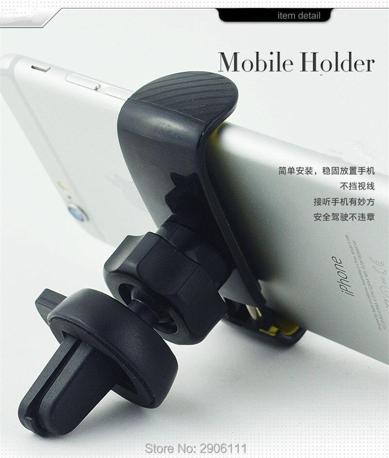 Держатель для телефона для крепления на вентиляционное отверстие автомобильный держатель поддержка подставка для мобильного телефона для...