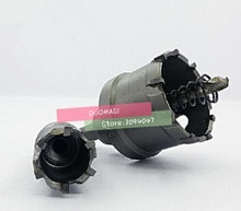 1 pcs 14 MM ~ 100 MM Carbide Tip Bit Metal Cutter Cutting Hole Saw Set Gatzaag, carbide Boor Set (20/30/40/50/60/80/90/100 mm)
