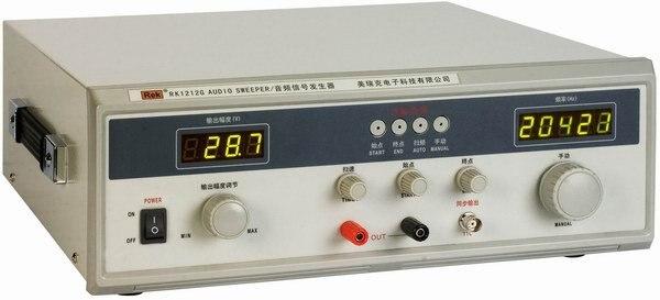 Chegada rápida REK RK1212D varredura de freqüência de áudio instrumento 40 W gerador de sinal digital com teste de polaridade