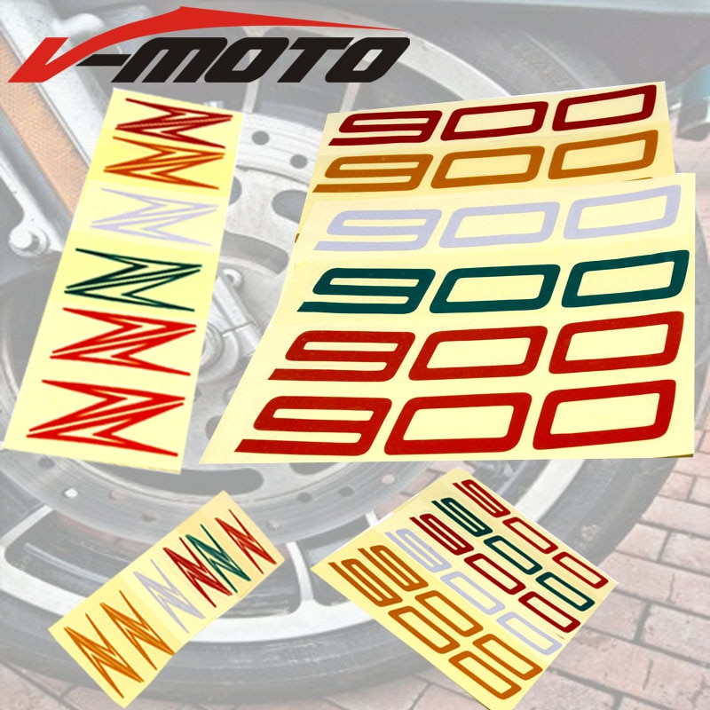 Adhesivos de rueda para motocicleta kawasaki Z900, pegatinas reflectantes, franjas para llanta, pegatinas para rueda de motocicleta, llanta reflectante