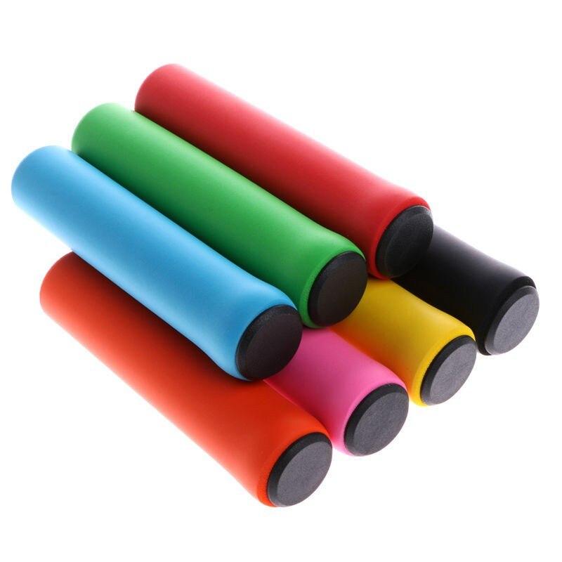 Цветные велосипедные ручки, удобные ручки для руля MTB, противоскользящие велосипедные ручки, велосипедные детали, Новинка
