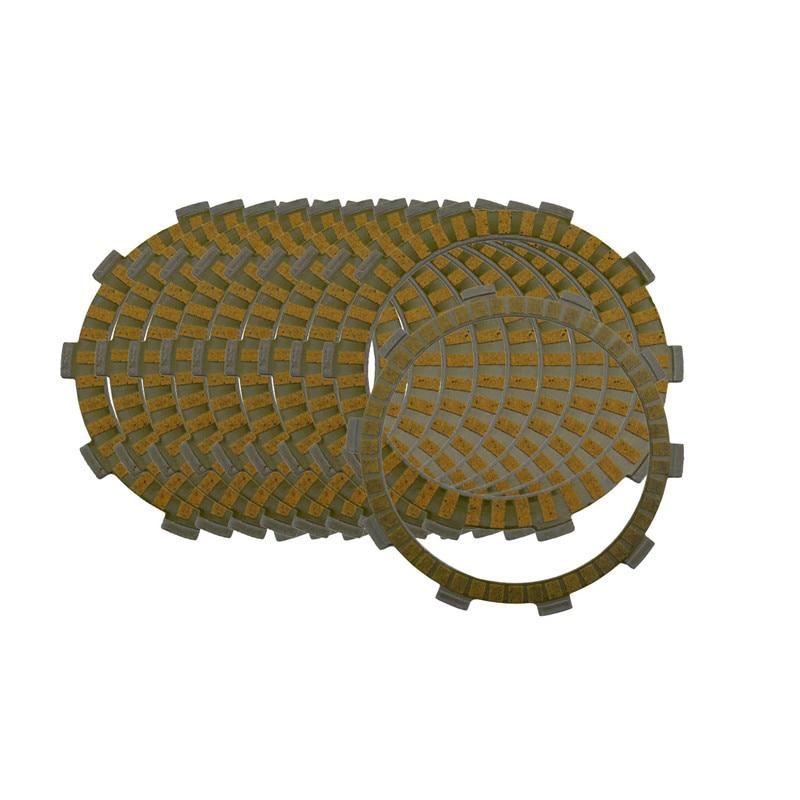 Kit de Placas de fricción de embrague de piezas de motor de motocicleta para SUZUKI GSXR750 GSX-R750 GSXR GSX-R 750 96-2001 HONDA VFR750R 1990 Disc