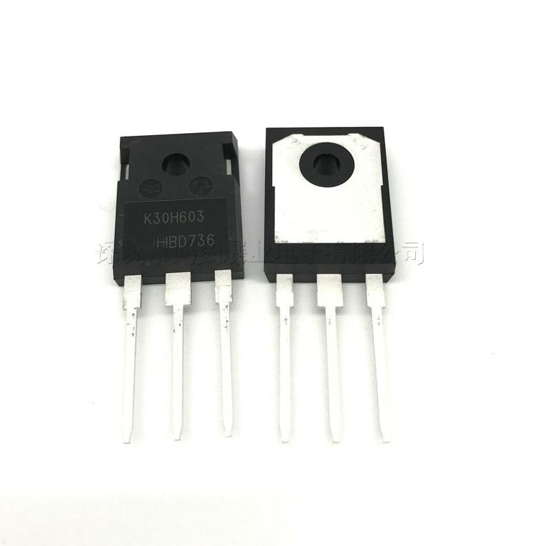1pcs/lot IKW30N60H3 K30H603 TO-247 IKW30N60 IGBT transistor 600V 30A 187W