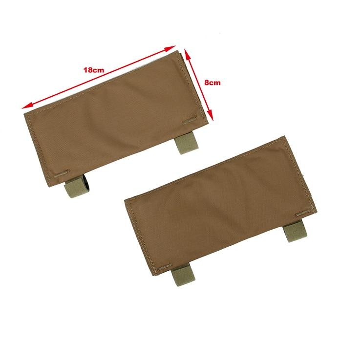 TMC Cordura 500D LT placa portador hombro almohadillas con soporte de tubo CB BK RG OD KK WG(SKU051140)
