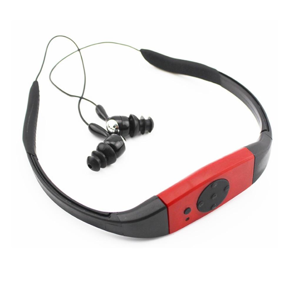 Водонепроницаемый MP3-плеер, радио, FM, для дайвинга, для плавания, спортивные музыкальные плееры