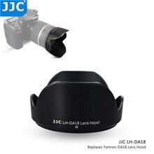 Tamron 용 jjc 렌즈 후드 18-250mm f/3.5-6.3 di-ii ld 18-270mm f/3.5-6.3 di-ii vc pzd 렌즈 (모델 a18 b008) 대체 TAMRON DA18