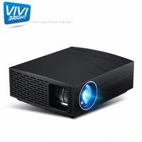 ViviBright     projecteur video LED F20  Android 6 0  1280x800  HD 1080P  pour le cinema et les affaires