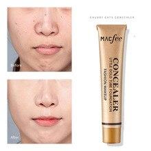 MACFEE face makeup liquid foundatino bright ivory natural colors 30g waterproof long lasting moisturizing base concealer MA025