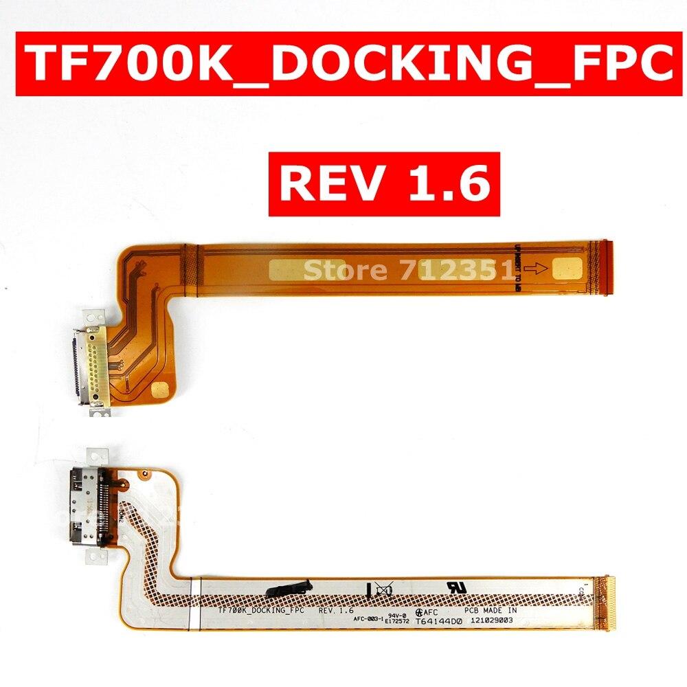 Гибкий кабель TF700K_DOCKING_FPC REV 1,6 для Asus Transformer Pad Infinity TF700T TF700 TF700K для зарядного устройства