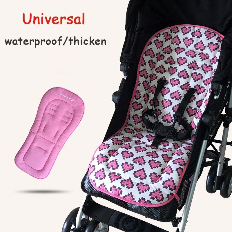 Cojín para cochecito de bebé cómodo, cojín para asiento, protector Universal para asiento de coche, cojín impermeable para cochecito, colchón, cojín para cochecito, accesorio para cochecito