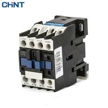 CHINT monophasé 220 V Trois-phase 380 V Communication Contacteur Cjx2-1810 1801 18a 110 V 24 V