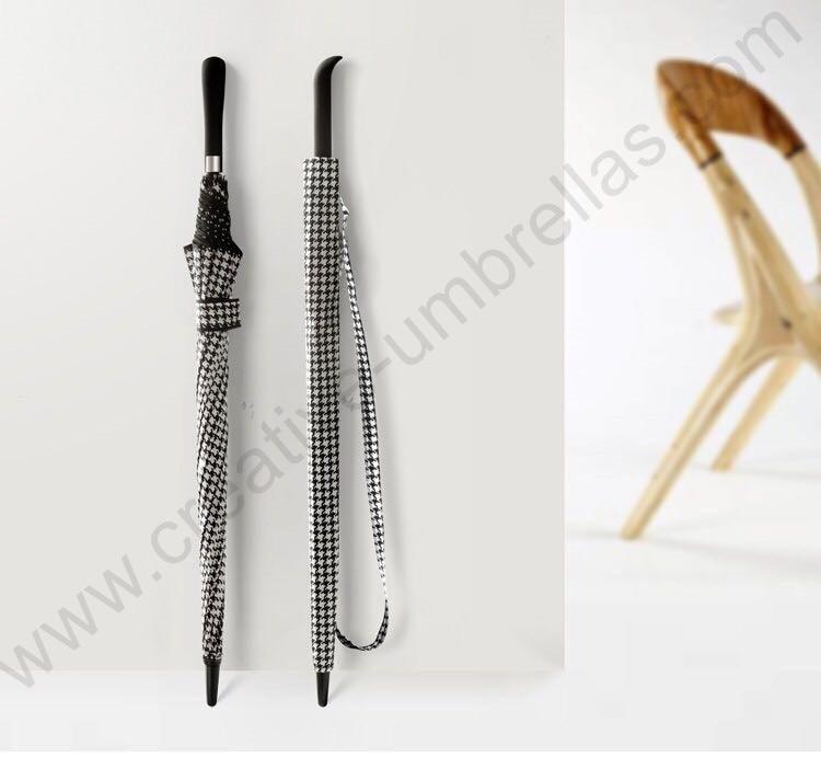 112cm auto open antique anti-thunder fiberglass business windproof Swallow Gird umbrella waterpoof commercial check parasol