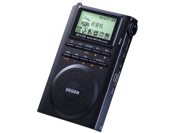 "Degen DE1125 Digital ESTÉREO FM SW TV ""Campu"" de Radio"