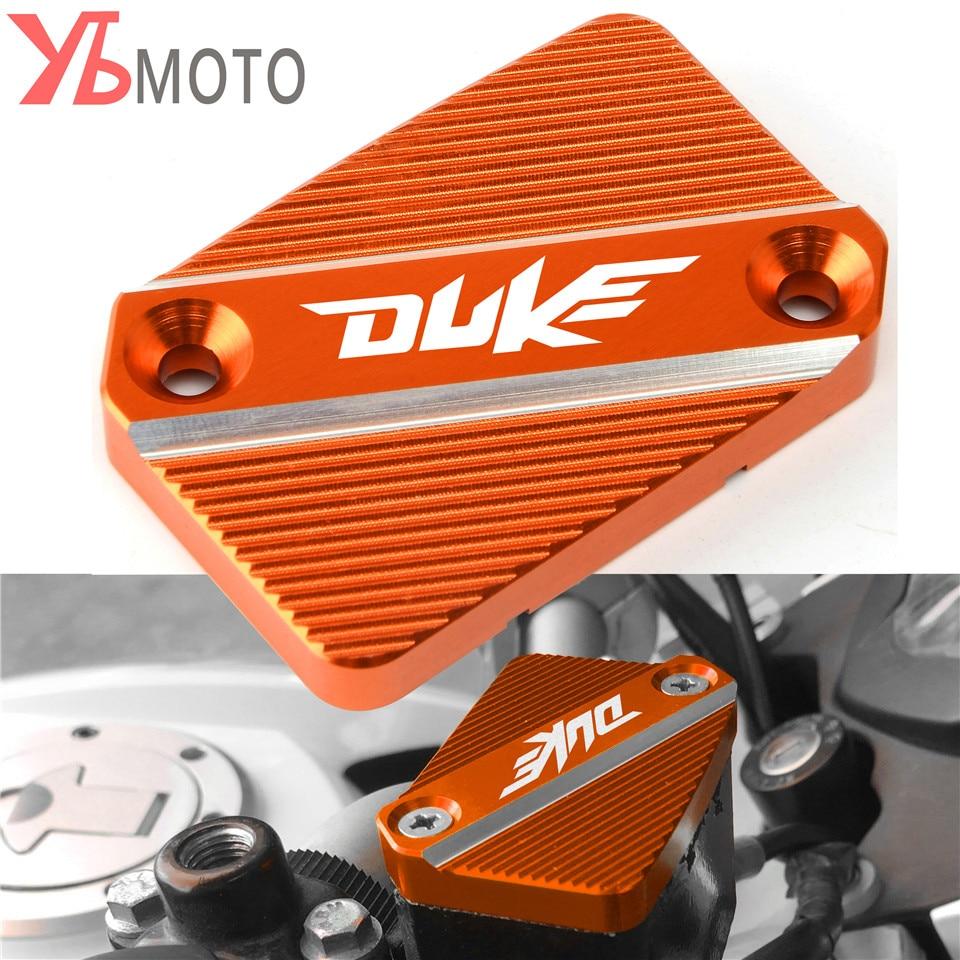Latest Styles Fits For KTM DUKE 125 200 390 690 Duke Aluminum Front Brake Fluid Reservoir Cover Cap Orange Accessories