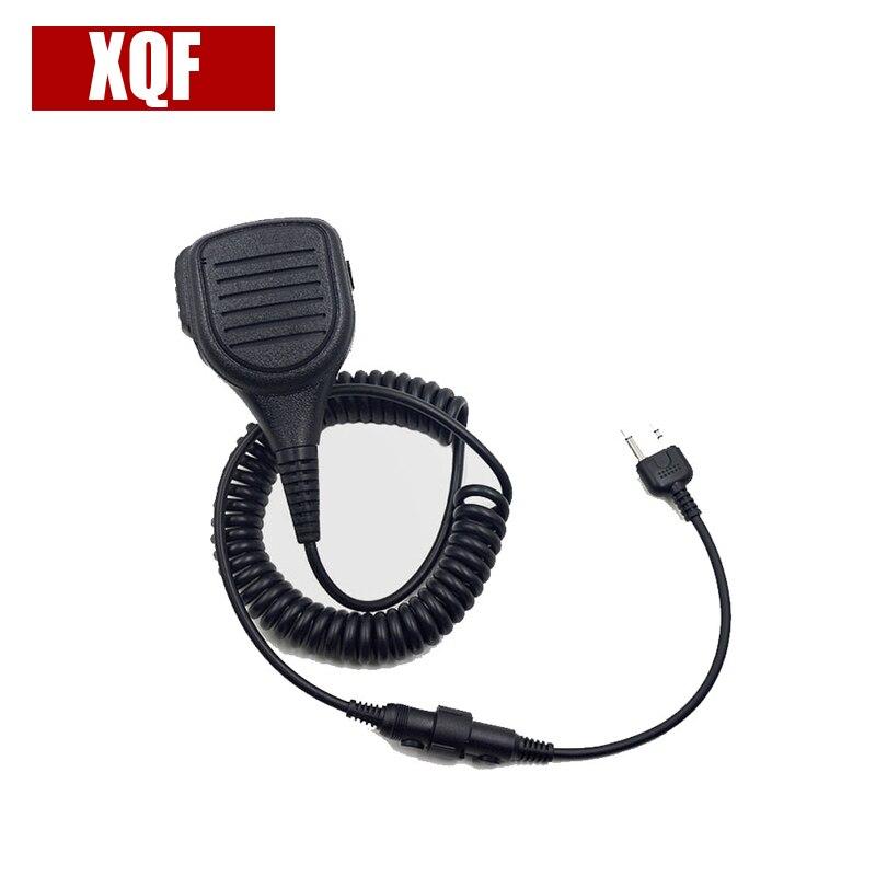 XQF Altavoz profesional micrófono de mano para Midland Radio Walkie Talkie GXT1050 GXT5000 GXT1000 GXT1050VP4 LXT380 nuevo