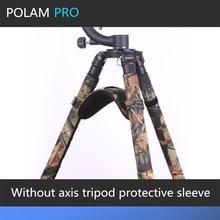 ROLANPRO pas daxe trépied spécial épaulettes manchon de protection ensembles de pieds trépied épaulettes caméra pistolets manteau pour GITZO