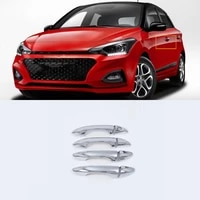 abs chrome exterior car styling accessories door handle cover right hand drive for hyundai i20 high quality