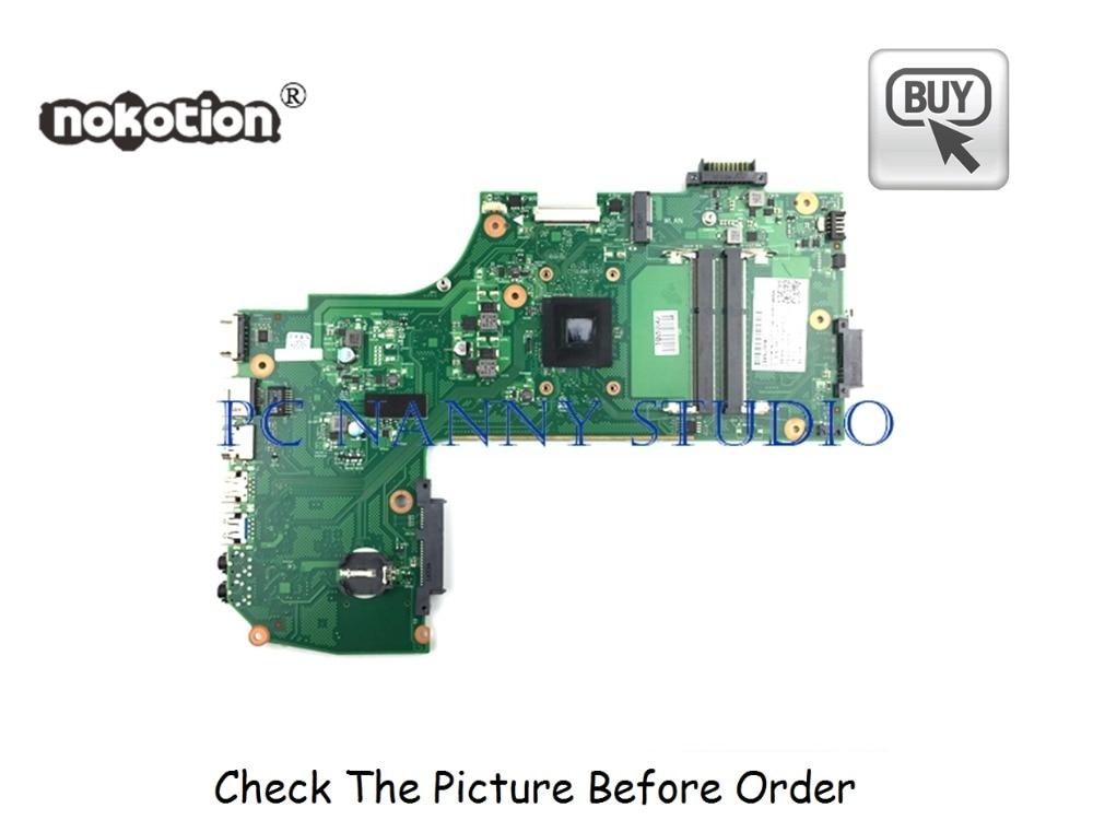 PANANNY V000358250 لتوشيبا C75D-B C75D اللوحة المحمول A6-6310 1.8Ghz CPU DDR3 اختبار