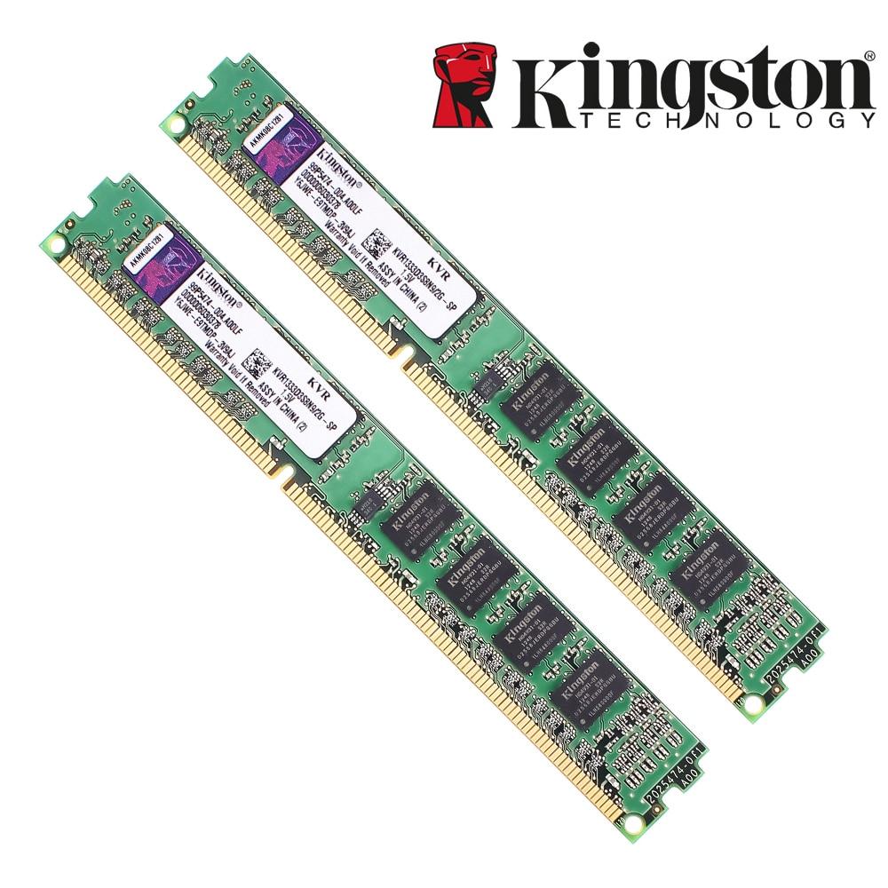 Kingston memoria ram ddr 3 ddr3 4GB 2GB DDR 3 8Gb PC3-10600...