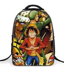 Anime Een Stuk Luffy Roronoa Zoro Ace Tas Kinderen Rugzakken Kids Schooltassen voor Tieners Jongens Cartoon Schooltas Mochila