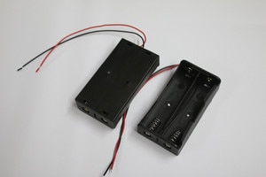10Pcs Battery Storage Box for 2 x 18650 In Parallel Connection Wired Battery Holder*