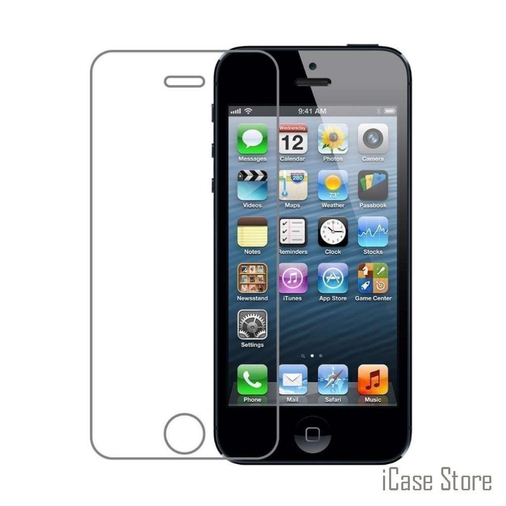 Для apple iphone 6 6s 6plus SE 5 5S 5c 4 4S взрывозащищенный 0,3 мм с уровнем твердости 9H 2.5D arc edge Защитная пленка для экрана из закаленного стекла Защитная пленка для аифон