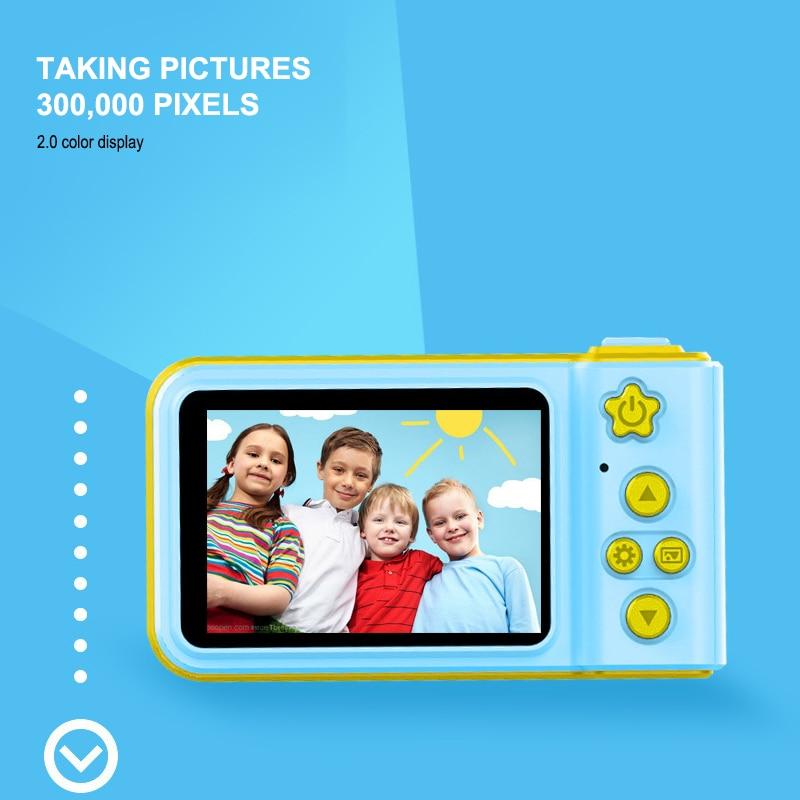 Mini cámara Digital para niños, cámara de movimiento pequeña SLR, juguete de...