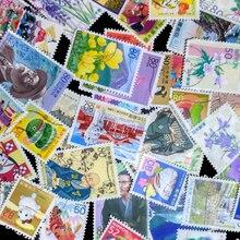 100 pièces/lot tous les différents japonais utilisé timbres-poste en bon état avec marque postale pour la collection acheter timbres onling