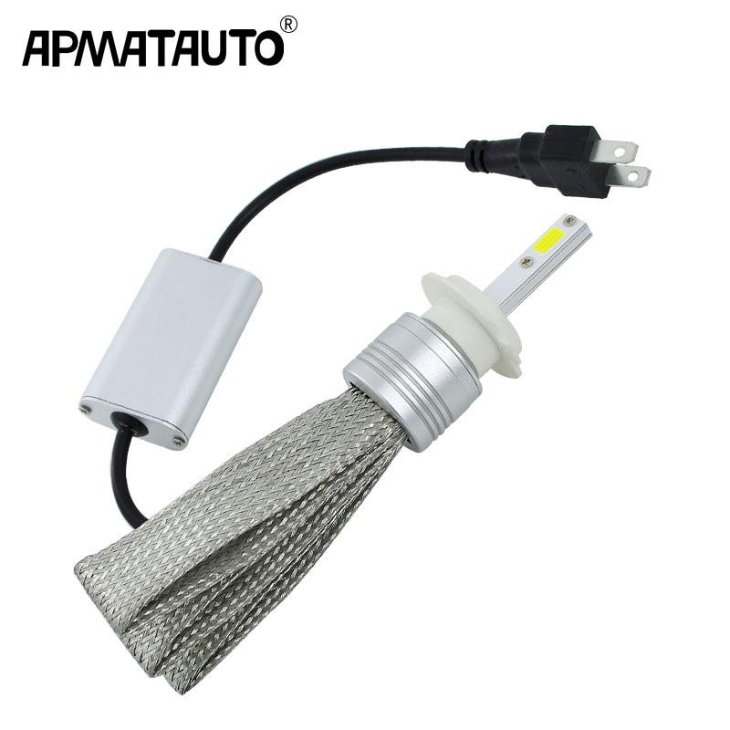 2x Plug&Play H1 H3 H4 H7 H8 H11 H9 9004 9005 HB3 H10 9006 HB4 9007 9008 LED Headlight 48W LED Headlights Bulb HeadLamp Fog Light