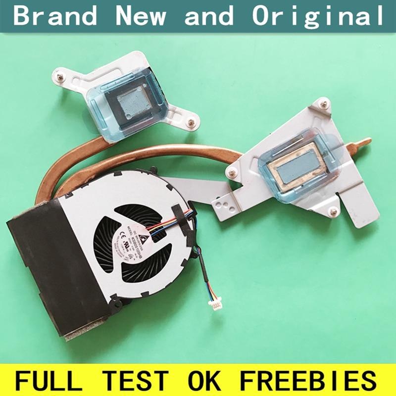New notebook CPU fan with heatsink radiator Fit for SONY Vaio SVE151 SVE171 SVE151B11N SVE1513V5CB laptop cooling Cooler