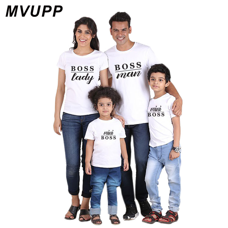 Camiseta con apariencia de mamá y yo, ropa que combina con la familia, ropa para bebés, Padre, Hijo, madre, hija, mini jefe, hombres, mamá, mamá y papá