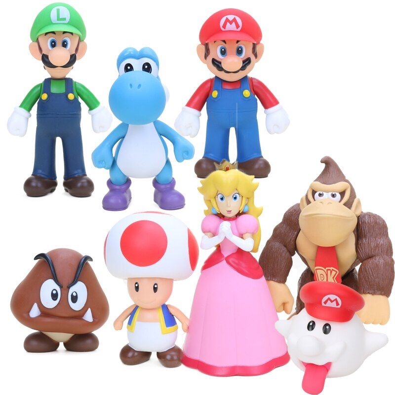 "Фигурки ""Супер Марио"", 8-15 см"
